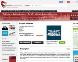 Business Magnet Business Directory is also free.