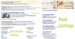Google Local Search Results for