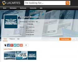 Lacartes Business Directory is Free