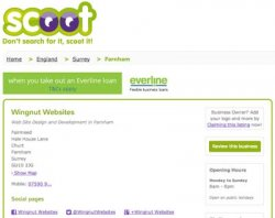 Scoot Business Directory Network has free listings available.