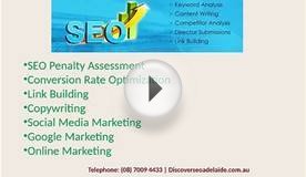 Discover SEO Adelaide - Adelaide SEO Services Company