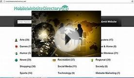 Free Mobile Website Directory | Free Listing Submission