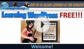 Learn WordPress Free - Free Traffic Getting SEO Settings 1