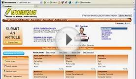 Net Content SEO - Free Reprint Articles Directory Submit