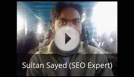 Sultan Sayed (SEO Expert) - http://sultansayed.blogspot.in/