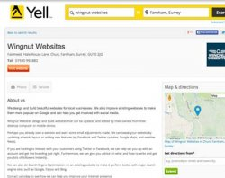 Yell Business Listing for Off-Page Links is the second best free listing.